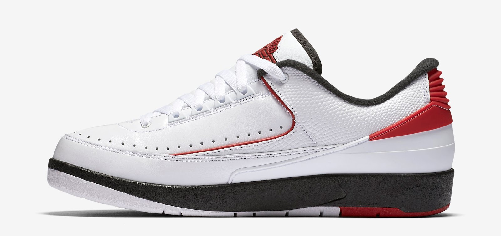 jordan 2 low white red