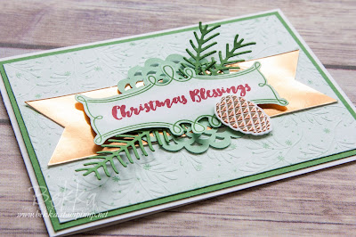Meet Christmas Pines from Stampin' Up! UK - get yours here