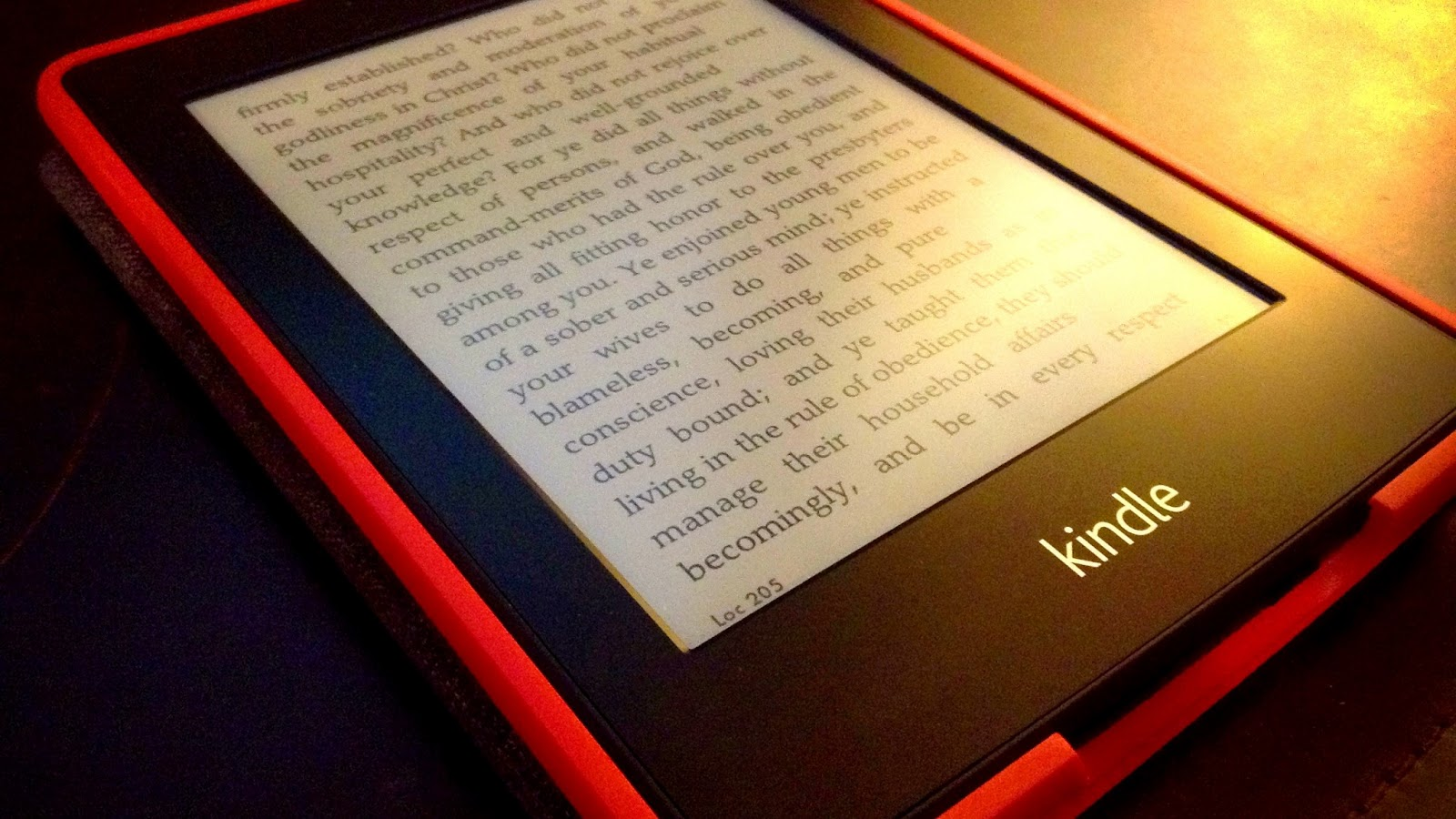 Bring the Books: Pulling the Paperwhite Out From Under the Bus