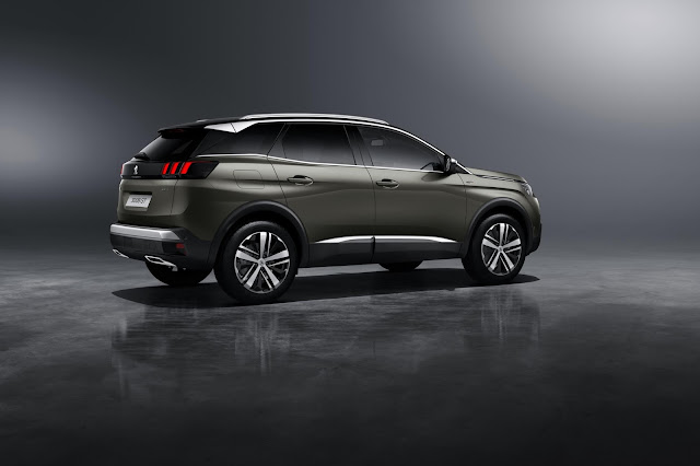 the motoring world the all new peugeot 3008 the capable car now has the looks to make it a. Black Bedroom Furniture Sets. Home Design Ideas