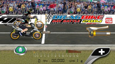 Download Drag Racing: Bike Edition MOD APK Indonesia 2017