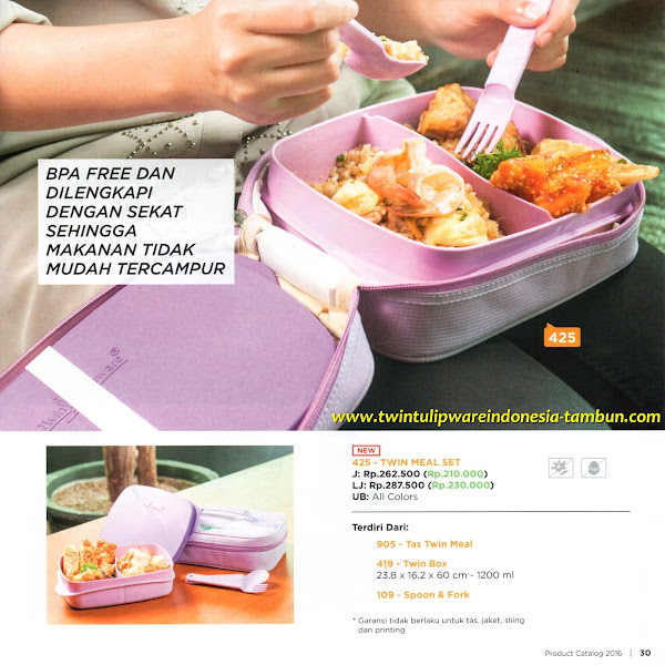New Product 2016, Twin Meal Set