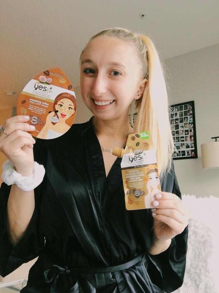 Testing Out YesTo's New Coconut + Coffee Collection
