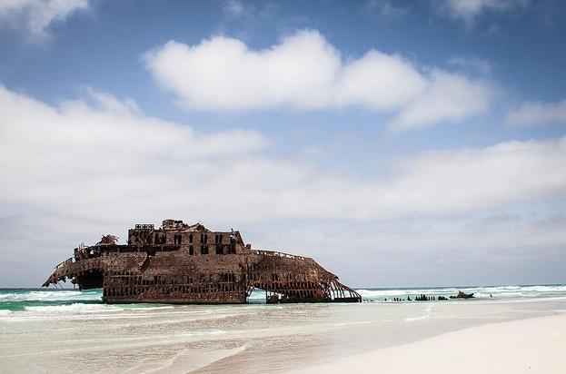 Praia de Santa Maria Beach, Cabo Verde
