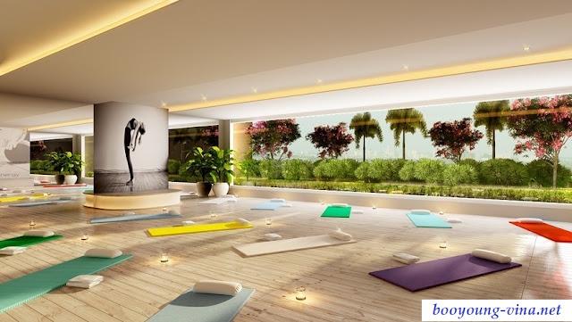 Phòng tập Yoga chung cư Booyoung Vina