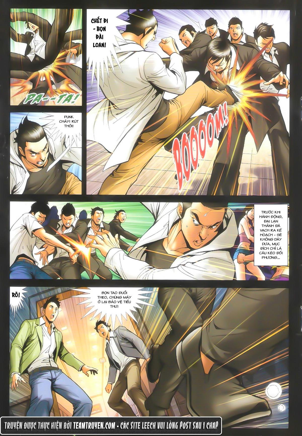 Người Trong Giang Hồ chapter 1604: hồng hưng vs trường lạc trang 18