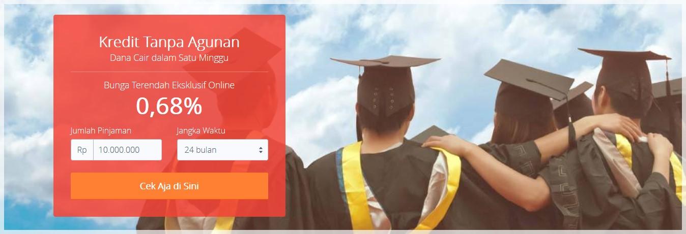 Pinjaman Kredit Tanpa Agunan Online Dengan Bunga Rendah Cekaja Di