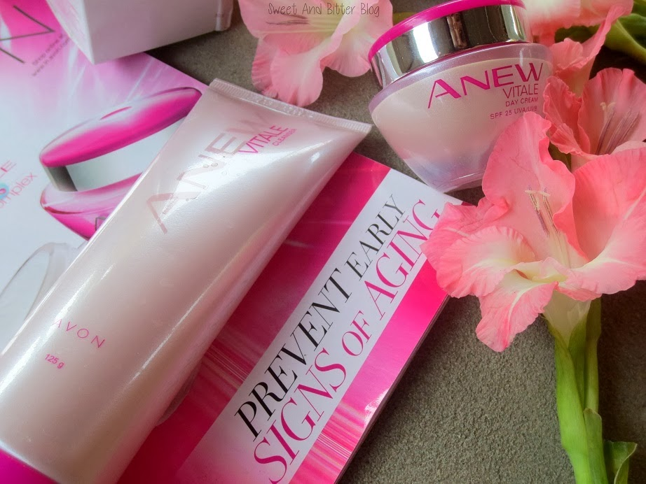 Avon Anew Vitale Day Cream SPF Cleanser India
