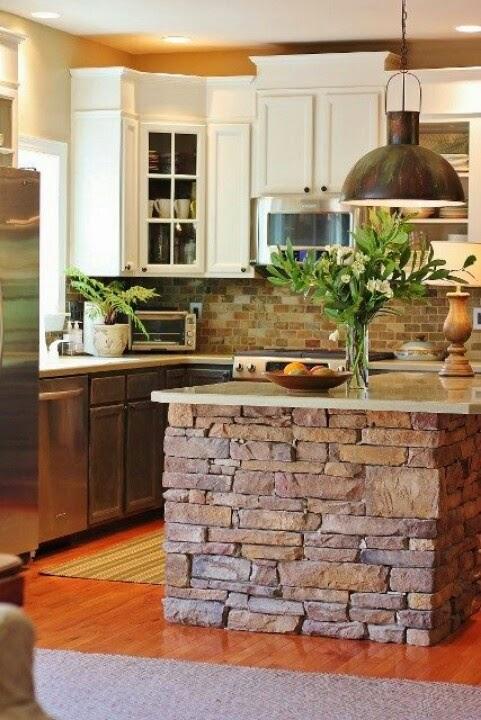 Hogares frescos 30 fabulosas ideas para islas de cocinas - Como hacer una isla de cocina ...