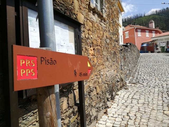 Percurso Pedestre em direção ao Pisão