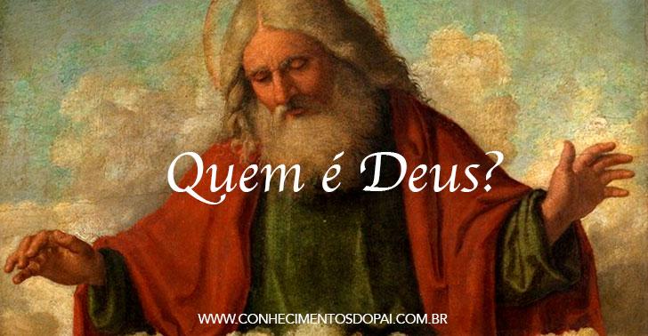 capa mensagem quem e%25CC%2581 deus - Quem é Deus?