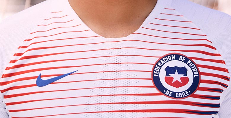 50dfb9c72 Chile failed to qualify for the World Cup, which means that the Chile 2018  home and away kits will see their most important appearance for the 2019  Copa ...