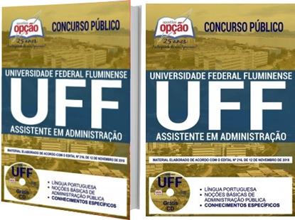 Apostila Concurso UFF RJ 2019 Assistente em Administração