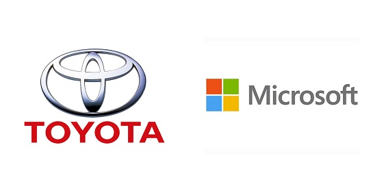 Toyota e Microsoft