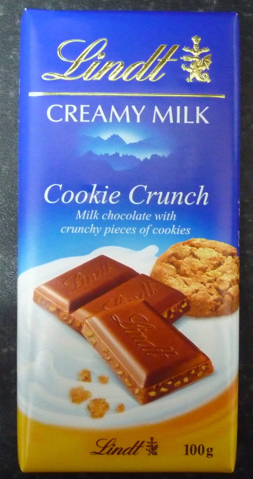 Something To Look Forward To Lindt Creamy Milk Cookie Crunch