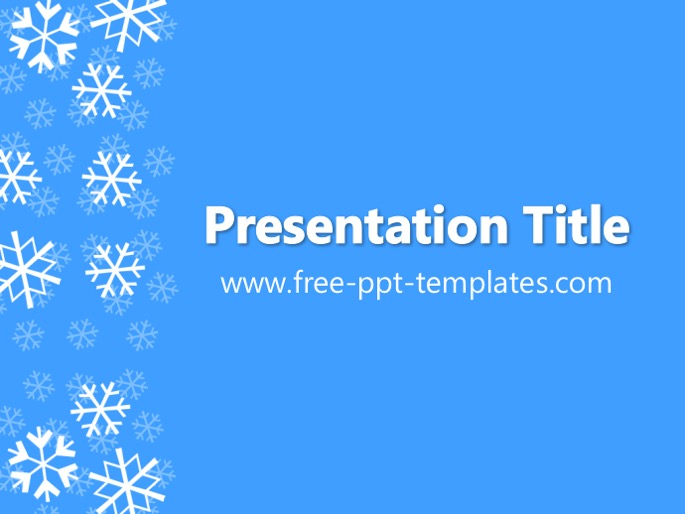 winter ppt template, Powerpoint templates