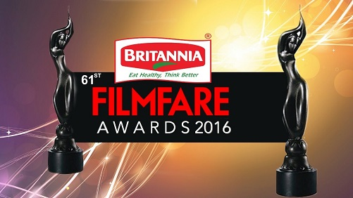 Poster Of 61st Filmfare Awards 7th February 2016 Main Event 720p HDTV Free Download