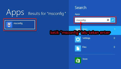 Cara Masuk Safe Mode Windows 8 dan Windows 8.1