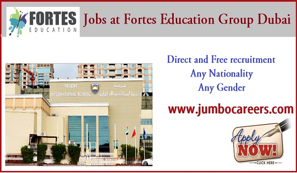 Dubai school jobs for Indians, Current job vacancies in Dubai,