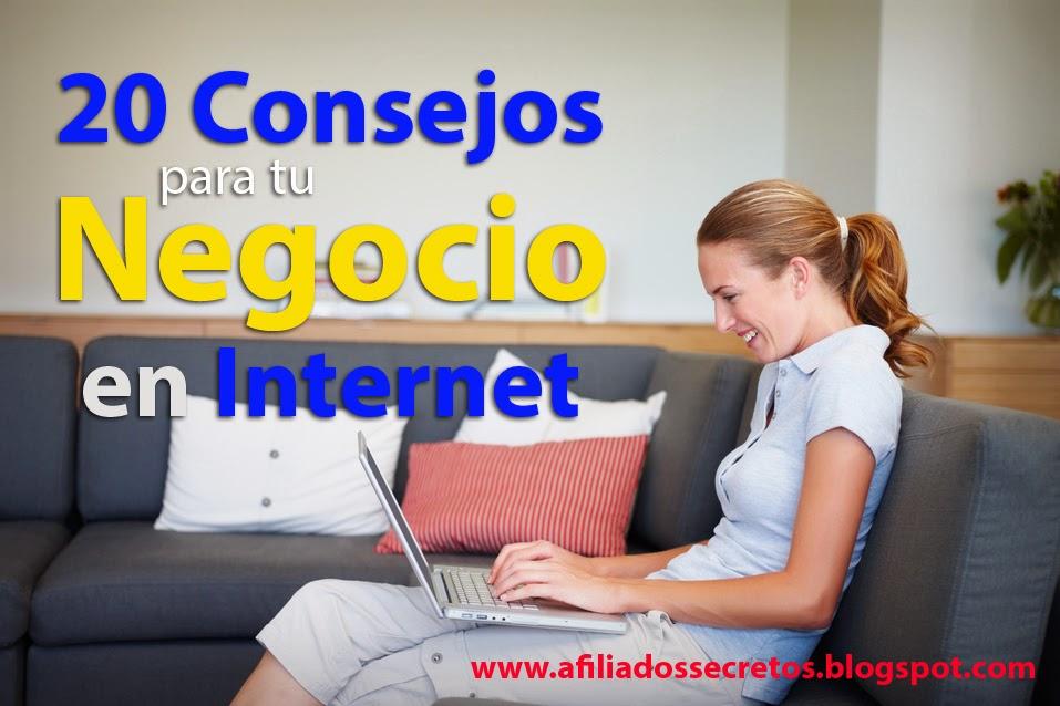 negocios en internet, dinero real en internet