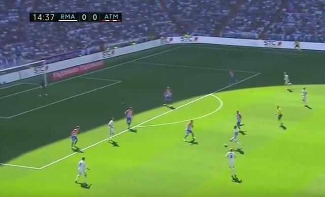 Cuplikan Video Real Madrid 1-1 Atletico Madrid tadi malam Sabtu 8 April 2017