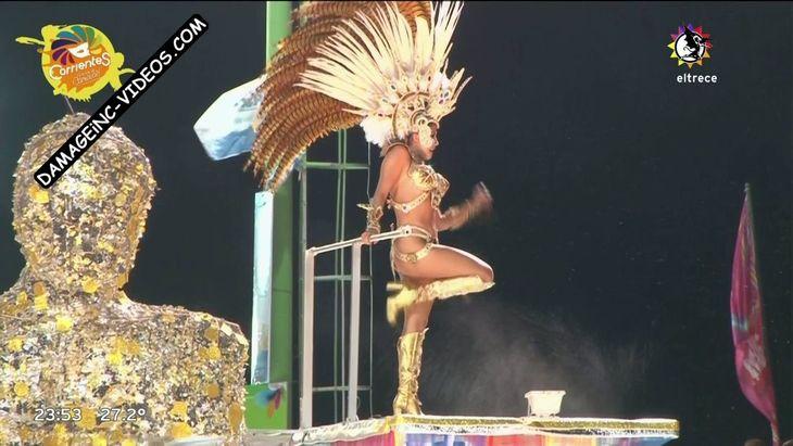 Barbie Velez half naked at the carnival Damageinc Videos HD