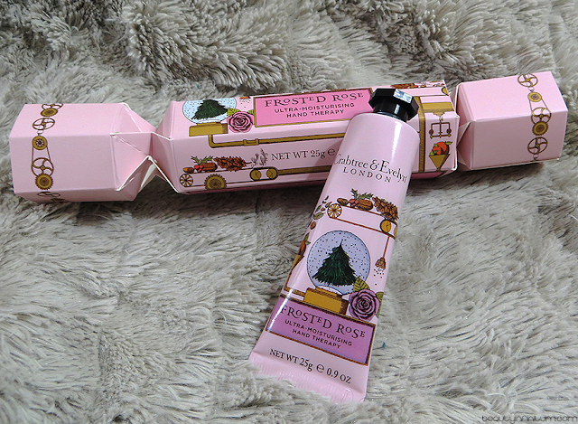 crabtree & evelyn frosted rose hand therapy cracker