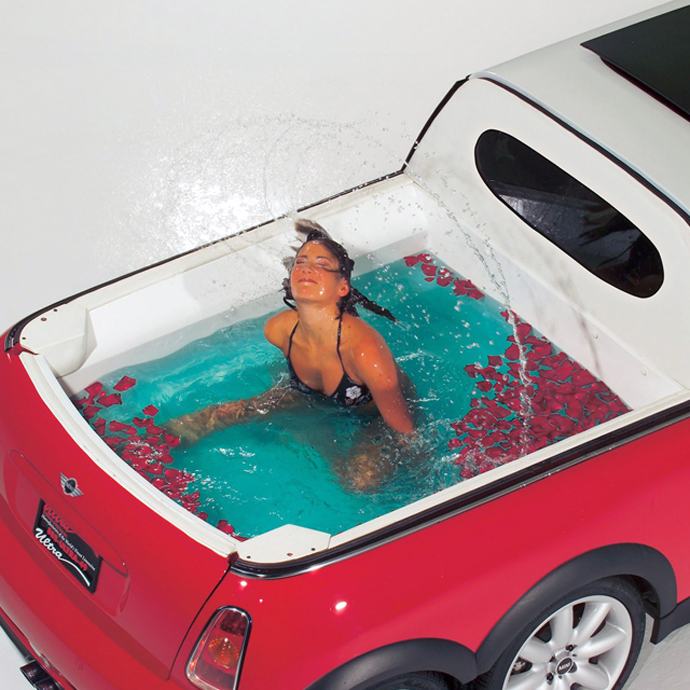 Mini Pool In Car  DAM AMAZINg