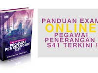 PANDUAN EXAM ONLINE PEGAWAI PENERANGAN  S41 TERKINI !