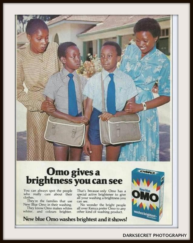 Check Out This Vintage Advert Of Omo Detergent From The 90s