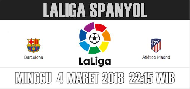 Cuplikan Hasil Pertandingan Barcelona vs Atletico Madrid 4 Maret 2018