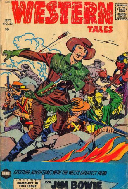 Kirby Western Tales Harvey Comics