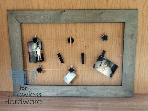 DIY Wire Frame Hanger - D. Lawless Hardware