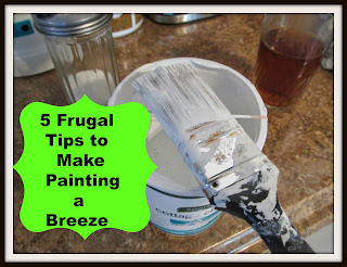 Easy trips that make painting both easy and frugal!