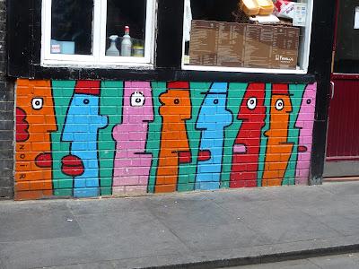 Thierry Noir Street Art à Londres