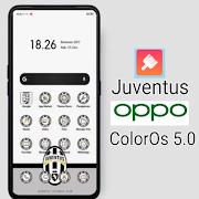 Tema Juventus untuk OPPO ColorOs V5.0