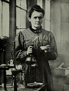 Maria w loboratorium 1921
