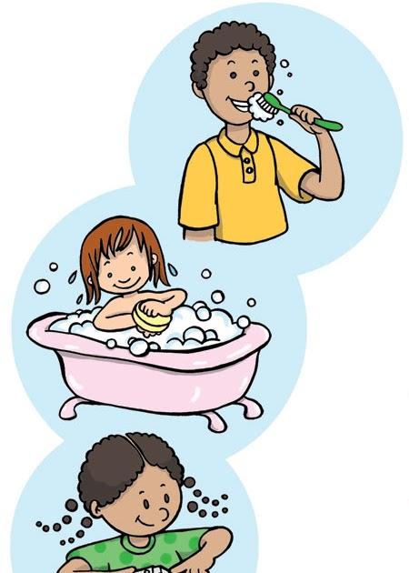 higiene para criancas