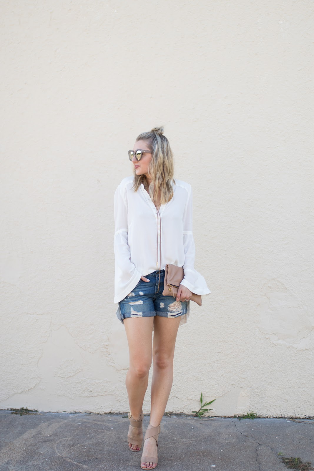 White and denim