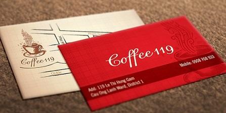 Hình ảnh mẫu card visit nhựa mỏng cho người nhiệt tình