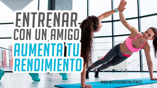 entrenar con amiga gym