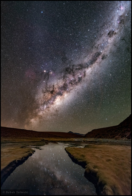 Đêm đầy sao ở Altiplano. Tác giả : Babak Tafreshi (TWAN).