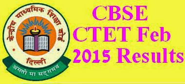 CBSE CTET Feb 2016 Results