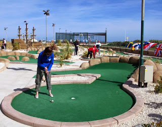 The BMGA British Open is at Hastings Adventure Golf this weekend
