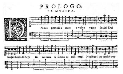 Monteverdi L'Orfeo - Prologue