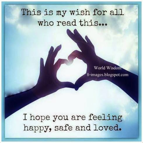 I Hope You Are Feeling Safe And Loved Quotes