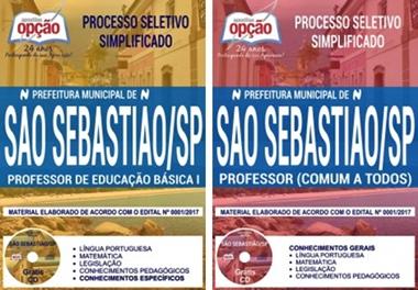 Apostila Concurso Prefeitura de São Sebastião 2017