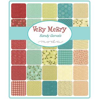 Crazy Quilt Girl Fabric Shop Moda Very Merry Fabric