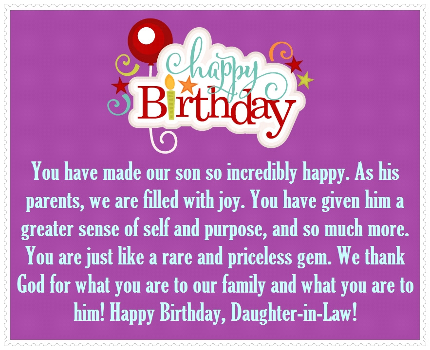 Daughter in law happy birthday quotes and greetings happy birthday daughter in law happy birthday quotes and greetings happy birthday wishes bookmarktalkfo Images