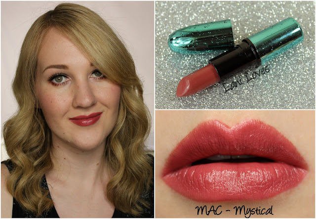 MAC Mystical lipstick swatch
